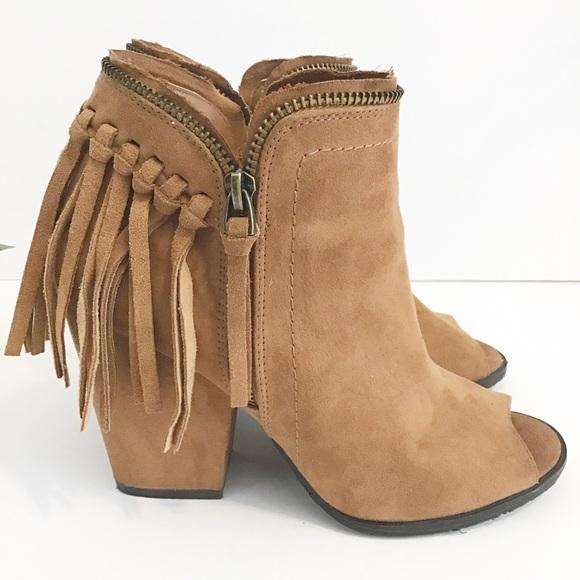 Dolce Vita Shoes - DOLCE VITA Tassel peep toe heels size 7.5